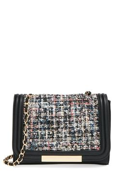 Sole Society 'Celeste' Quilted Sequin Crossbody Bag - Gifts Under $50