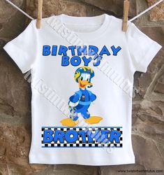 Mickey and the Roadster Racers Family Birthday Shirts, Mickey and the Roadster Racers Birthday Shirt, Mickey Mouse Family Birthday Shirts Family Birthday Shirts, Family Birthdays, Family Shirts, Boy Birthday, Birthday Ideas, Sister Shirts, Dad To Be Shirts, Shirts For Girls, Mickey Mouse Clubhouse Birthday Party
