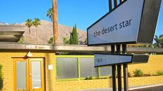 The Desert Star - Mid-Century Modern vacation rentals in Palm, Springs, California