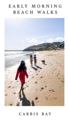 Early morning beach walks along Carbis Bay beach, dogs 🐕 are allowed up till 10.00am in the morning, it's the perfect time of day for a doggy walk! #dogs  #dogfriendly #beaches #uk #cornwall #stives #uktravel #familytravel Family Friendly Dogs, Dog Friendly Holidays, Places To Travel, Travel Destinations, Cornwall Beaches, Holidays In Cornwall, Next Holiday, Beaches In The World, St Ives