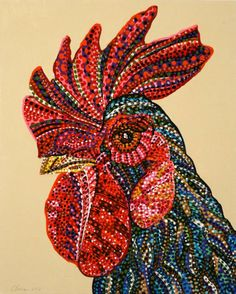 "Saatchi Art Artist Erika Pochybova; Painting, ""Swagger"" #art"