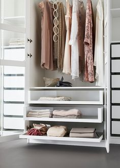 Ikea Pax Wardrobe, Wardrobe Storage, Wardrobe Tv, Ikea Pax Closet, Ikea Closet Organizer, Small Closet Organization, Hemnes, Pax Planer, Pax System