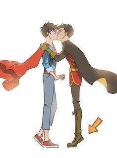 Read Damijon part 1 from the story Bat Family and Yaoi I Guess(ENDED) by Lolita_Jinx with reads. Batman Robin, Superman X Batman, Batman Arkham, Batman Art, Nightwing, Batgirl, Robin Starfire, Univers Dc, Superhero Kids
