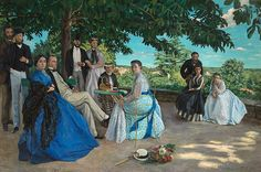 Frédéric Bazille and the Birth of Impressionism, April 9 - July 9, 2017 at the National Gallery of Art