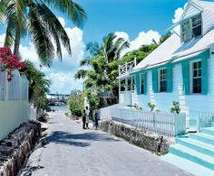 Harbor Island, Bahamas.
