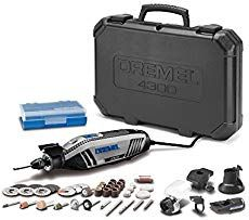Dremel High Performance Rotary Tool Kit with Universal Chuck, 5 Attachments and 40 Accessories - Easy to use, works great.This Dremel that is ra Best Dremel Tool, Dremel Bits Guide, Dremel Tool Bits, Dremel Kit, Dremel 4000, Dremel Rotary Tool, Dremel Drill, Best Wood Carving Tools, Dremel Carving