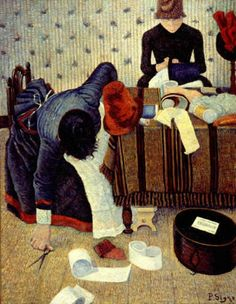 El Milliners,1885 - Paul Signac