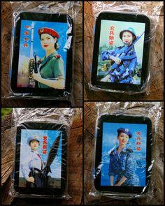 Small Hinged Pocket Tin Box Battle Babes 2003 War Propaganda Women Ship