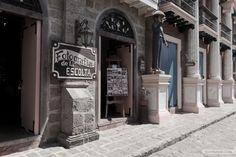 Fotografía de la Escolta - The likeness of an old photography shop in Escolta, Manila (Las Casas Filipinas de Acuzar)