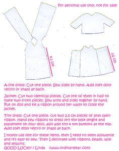 Pattern for Petite Blythe