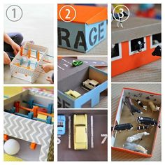 DIY 3 Shobox Crafts for Kids #diy #crafts #summer_crafts
