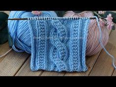Knitting pattern Pearl harness of 10 loops – knitting stitches interesting Baby Knitting Patterns, Knitting Stiches, Cable Knitting, Knitting Videos, Easy Knitting, Amigurumi Patterns, Knitting Designs, Knitting Projects, Stitch Patterns