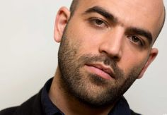 Roberto Saviano. hE'S NOT AFRAId tO SPEAk ANd stanDS foR hUMANITY, MAxIMUM rESPECT!