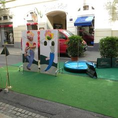 weitere Eindrücke vom Golf in the City 2012