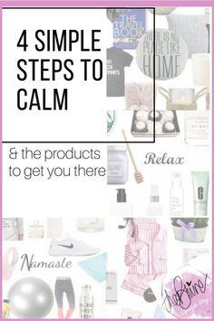 4 steps to calm
