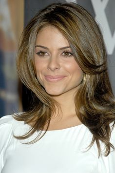 Maria Menounos hair and makeup