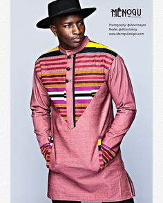 Looking for the best kitenge designs in Africa? See images of kitenge dresses and skirts, African outfits for couples, men's and baby boy ankara styles. African Fashion Designers, African Inspired Fashion, African Men Fashion, Africa Fashion, African Tops, African Shirts, African Attire, African Wear, African Style