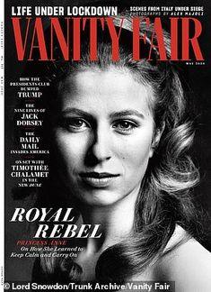 """La princesse Anne à la Une de """"Vanity Fair"""" pour ses 70 ans – Noblesse & Royautés"""