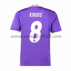 Real Madrid Fotballdrakter 2016-17 Kroos 8 Bortedrakt