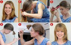 Como cortar o cabelo sozinha passo a passo: