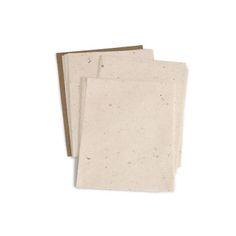 KOZO/レターペーパー モダン 683yen 楮の風合いを生かした楮の塵入りのレターペーパー