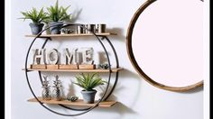 diy pallet & iron projects for your home improvement 26 Diy Home Decor Projects, Home Crafts, Decor Ideas, Home Decor Bedroom, Living Room Decor, House Plants Decor, Metal Wall Decor, Diy Furniture, Farmhouse Decor
