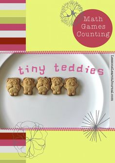 Counting tiny teddies - a quick 10 minute math game for preschool / kindergarten. via Lessons Learnt Journal