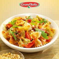Dit is het resultaat van ons pastagerecht! Wie 'strik' jij om te genieten van jouw #pastacreatie?