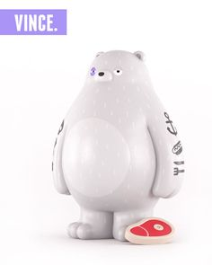 Bear Toy Design by Yum Yum (London, UK) via IdN™ Creators®