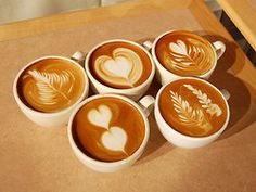 Latte Art! I want to know how to do this!
