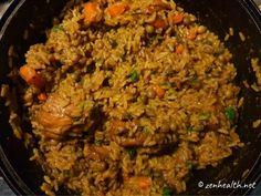 Trinidad Pelau: Popular Chicken, Rice and Pigeon Peas Dish - ZenHealth Trinidad Pelau Recipe, Trinidad Recipes, Rice Recipes, Indian Food Recipes, Dinner Recipes, Ethnic Recipes, Rice And Pigeon Peas, Rice And Peas, Antigua