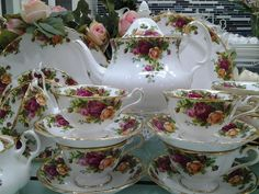 old country roses royal albert | Lovely Treasures from English Garden: Royal Albert Old Country Rose ...