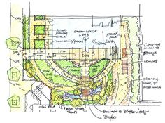 Trend Landscape Plan Drawing 5 How To Draw Architectural Landscape Design Drawing