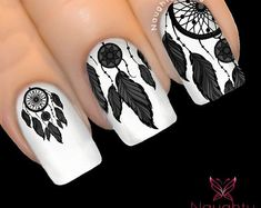 Feather Nail Art Designs - Top 100 Design - Our Nail Feather Nail Designs, Feather Nail Art, Feather Tattoos, Nail Art Designs, Nails Design, Love Nails, Pretty Nails, Indian Nails, Indian Nail Art