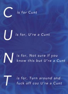 Extremely offensive birthday cards or an insulting greeting on abusive, offensive cards with some really revolting wounding statements Offensive Quotes, Insulting Quotes, Rude Quotes, Sarcastic Quotes, Funny Quotes, Funny Memes, Hilarious, Son Quotes, Baby Quotes