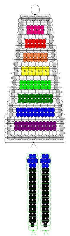 Xylophone pony beads pattern