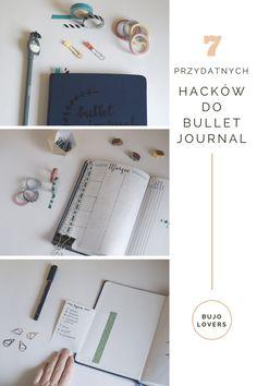 Przydatne hacki do bullet journal // Bujo hacks