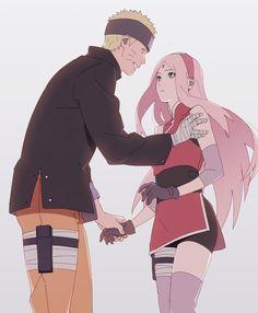 Sasuke: ê này dobe?! Làm ji mà nắm tay cô ấy đấy? Sặc ghen:'>