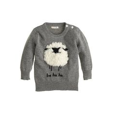 Sheep Sweater for Baby