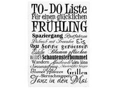 42x30cm XXL Shabby Dekoschild Holzschild TO DO LISTE FRÜHLING Wandtafel Geschenk