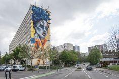Nouvelle fresque géante de Dourone à Mulhouse - Journal du Design
