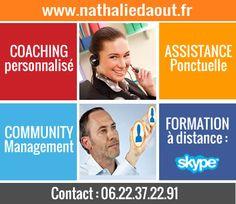 Découvrez mes services sur les réseaux sociaux : formation, CM http://www.nathaliedaout.fr/prestations/