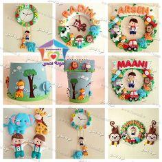 کارهای نمدی پشت در توالت Arte em Feltro Pinterest'te Feltro, Keçe ve El Sanatı