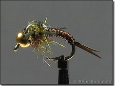 Wired Rubber Legs Copper John - Fly | Large