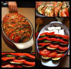Cukinia, pomidory i coś jeszcze...