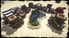 My Second Desert House Bundle [DOWNLOAD] Minecraft Project