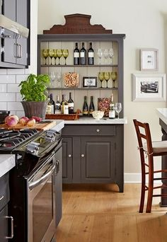 How To Decorate The Top Of A Cabinet (AND How NOT To) ➤ http://CARLAASTON.com/designed/how-to-decorate-cabinet-top