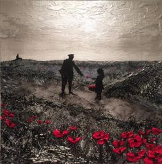 Tommy Atkins In Flanders Fields Centenary Remembrance Day War Poppy Art Painting by Jacqueline Hurley Remembrance Day Photos, Remembrance Day Poppy, Poppy Field Painting, Original Art, Original Paintings, Armistice Day, Flanders Field, World War One, Art Reproductions