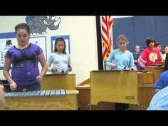 Gigi's bass xylophone performance at Rugel Elementary PTA - YouTube