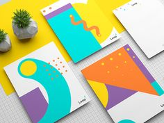 Mexican studio Menta Picante has created the branding for Leap, a Guadalajara-based school teaching web development and programming. Kids Graphic Design, Web Design, Graphic Design Inspiration, Print Design, Logo Design, Daily Inspiration, Corporate Design, Corporate Identity, Stationery Design